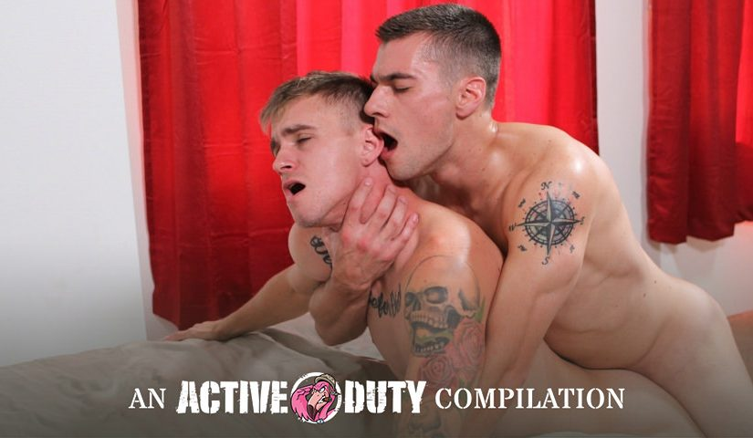 Active Duty Favorites: Bottoms Cumming, Scene #01