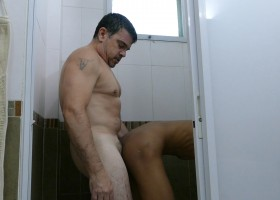 Daddy And Joshua Shower Sex
