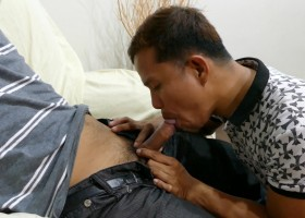 Str8 Asian BJ – Jr