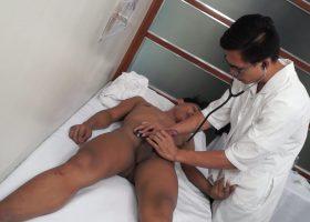 Kinky Asian Medical Exam Bareback Fuck