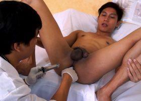 Kinky Gay Asian Medical Exam