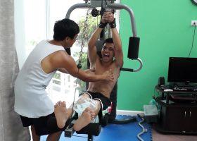 Vahns Ticklish Workout